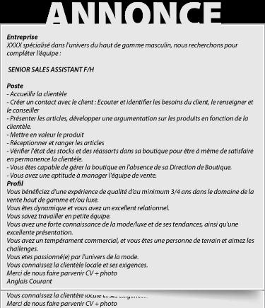 Cover Letter Example Modele De Lettre De Motivation Pour Un Emploi